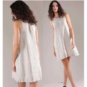 Grana Irish linen mini dress size XS